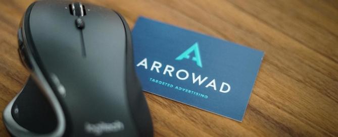 Die neue ArrowAd Webvisitenkarte